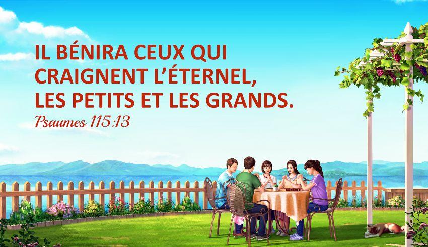 18 versets bibliques sur les bénédictions